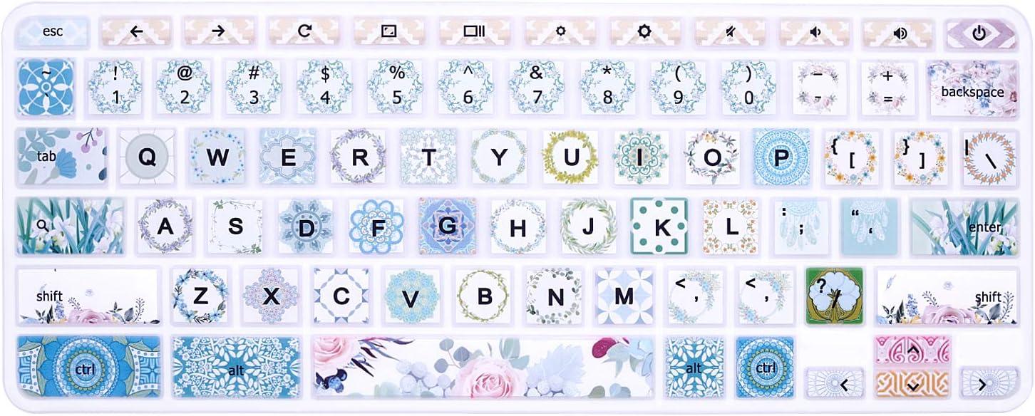 Silicone Keyboard Cover Skin for HP Chromebook 11 x360 11.6