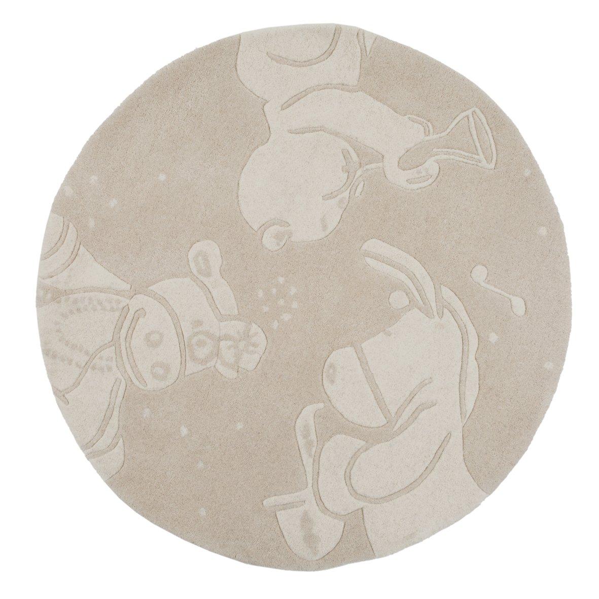 Noukies BB1420.85 Jazz Teppich Wolle, 100 x 150 cm