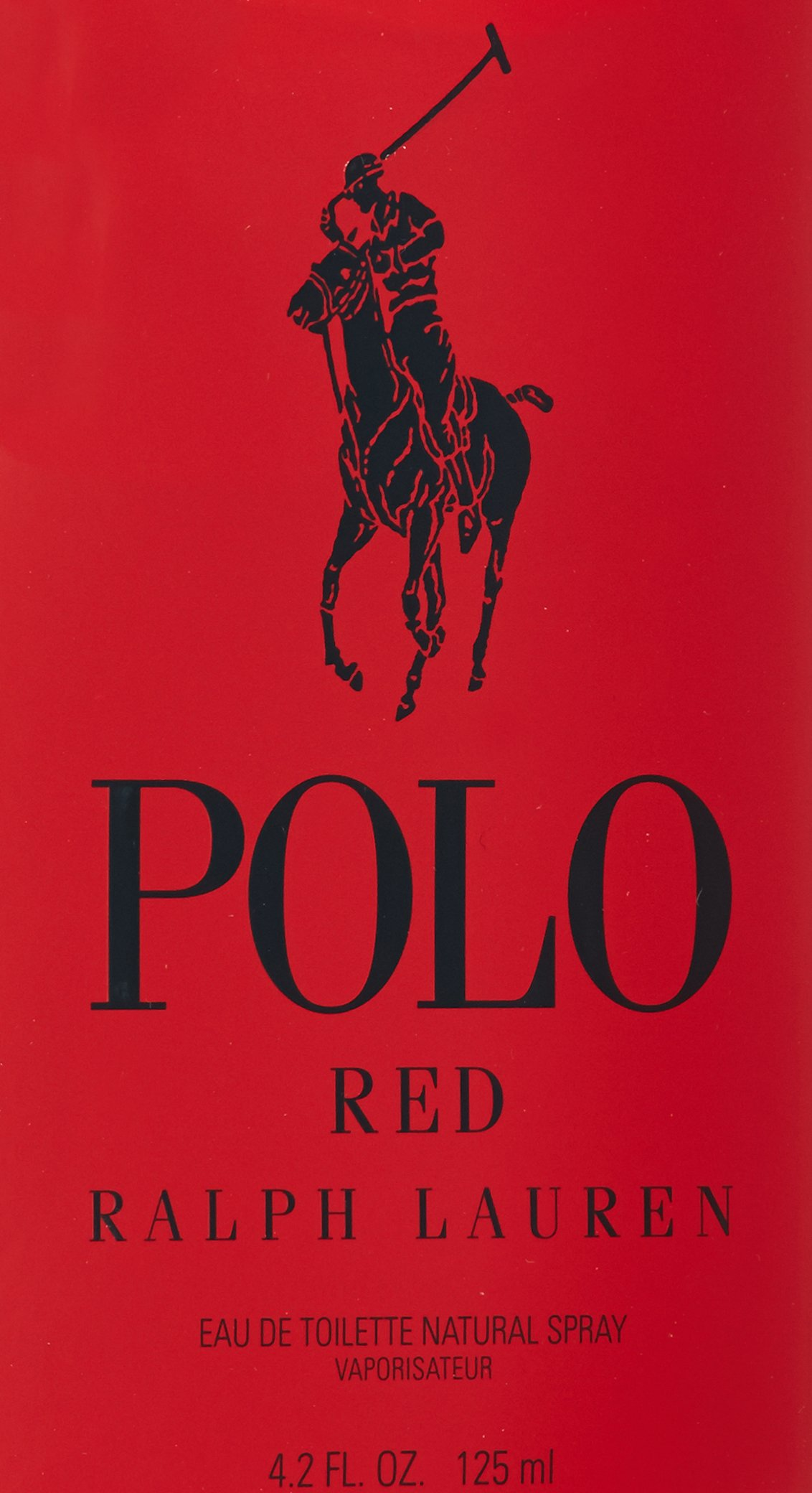 Ralph Lauren Polo Red Eau de Toilette Spray for Men, 4.2 Ounce