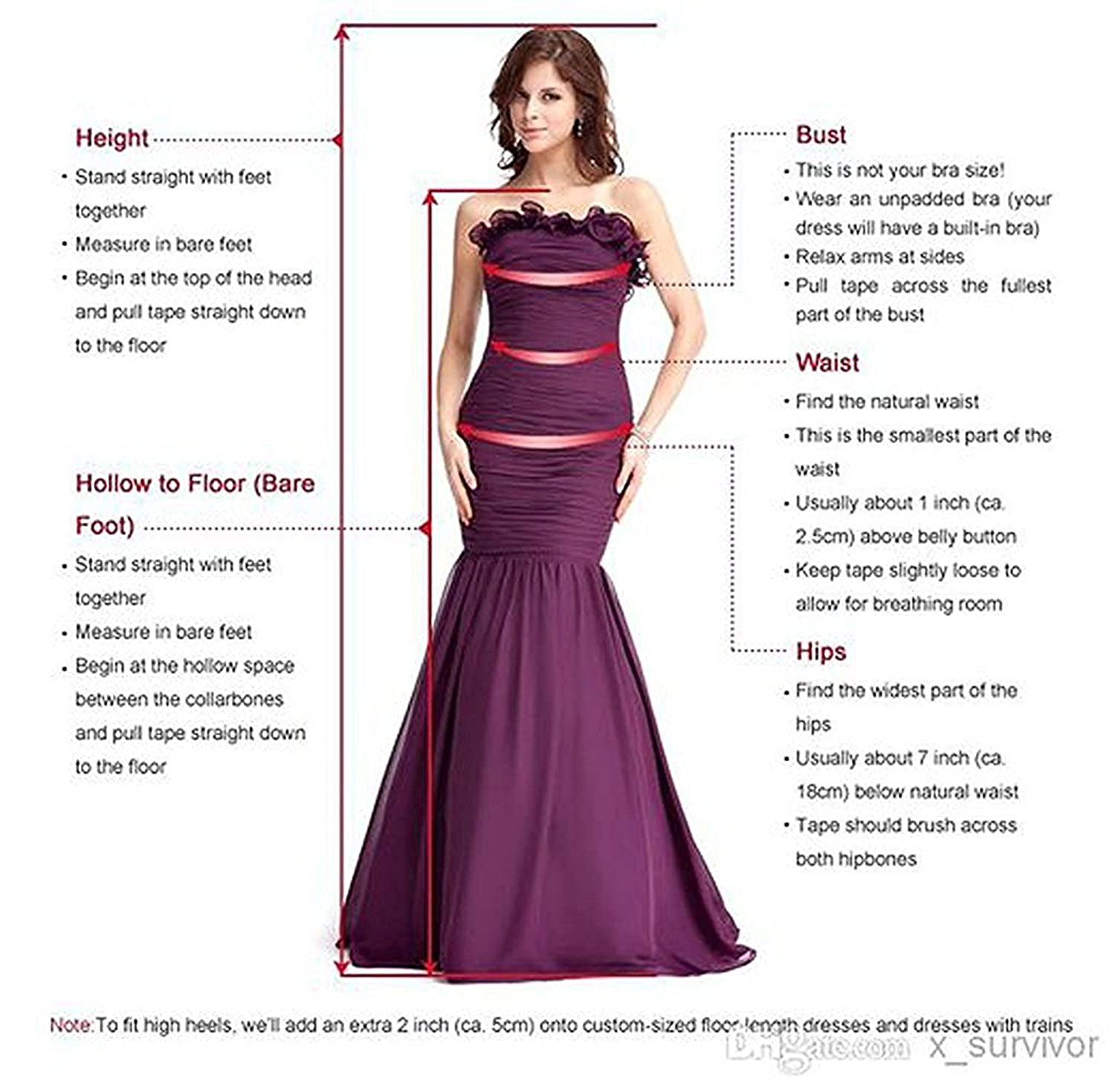 Nina Ding 2018 Prom Dresses for Women Formal Slit Luxury Evening Dresses Long Champagne NND001 at Amazon Womens Clothing store: