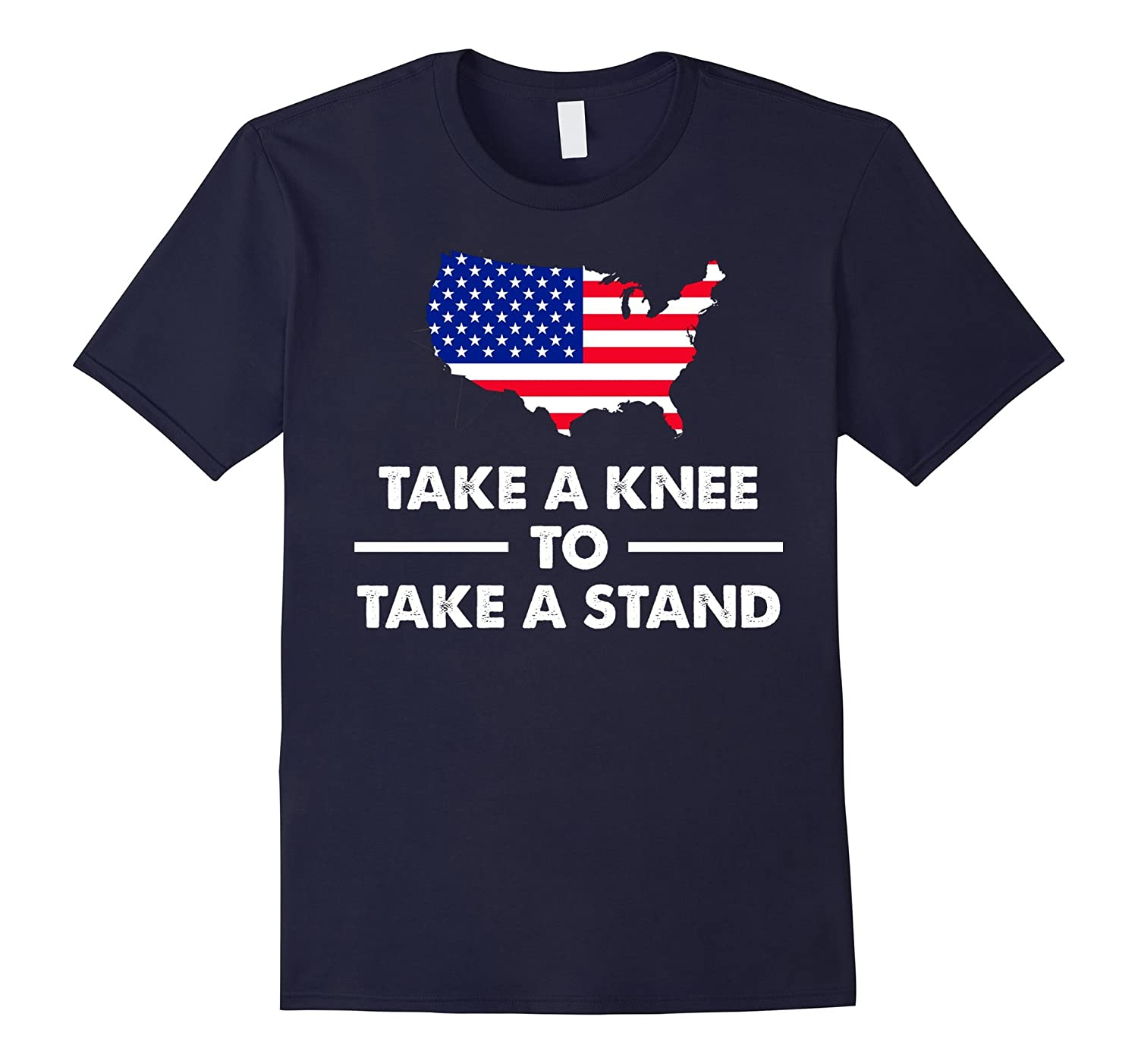 #TAKEAKNEE Take A Knee To Take A Stand peace protest t-shirt-Art