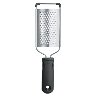 OXO 20581 Good Grips Grater, One Size, Black/Steel
