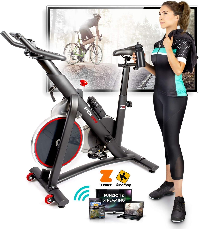 Bicicleta de spinning - Bike Your Move Cardio, bicicleta estática, Fitness: Amazon.es: Deportes y aire libre