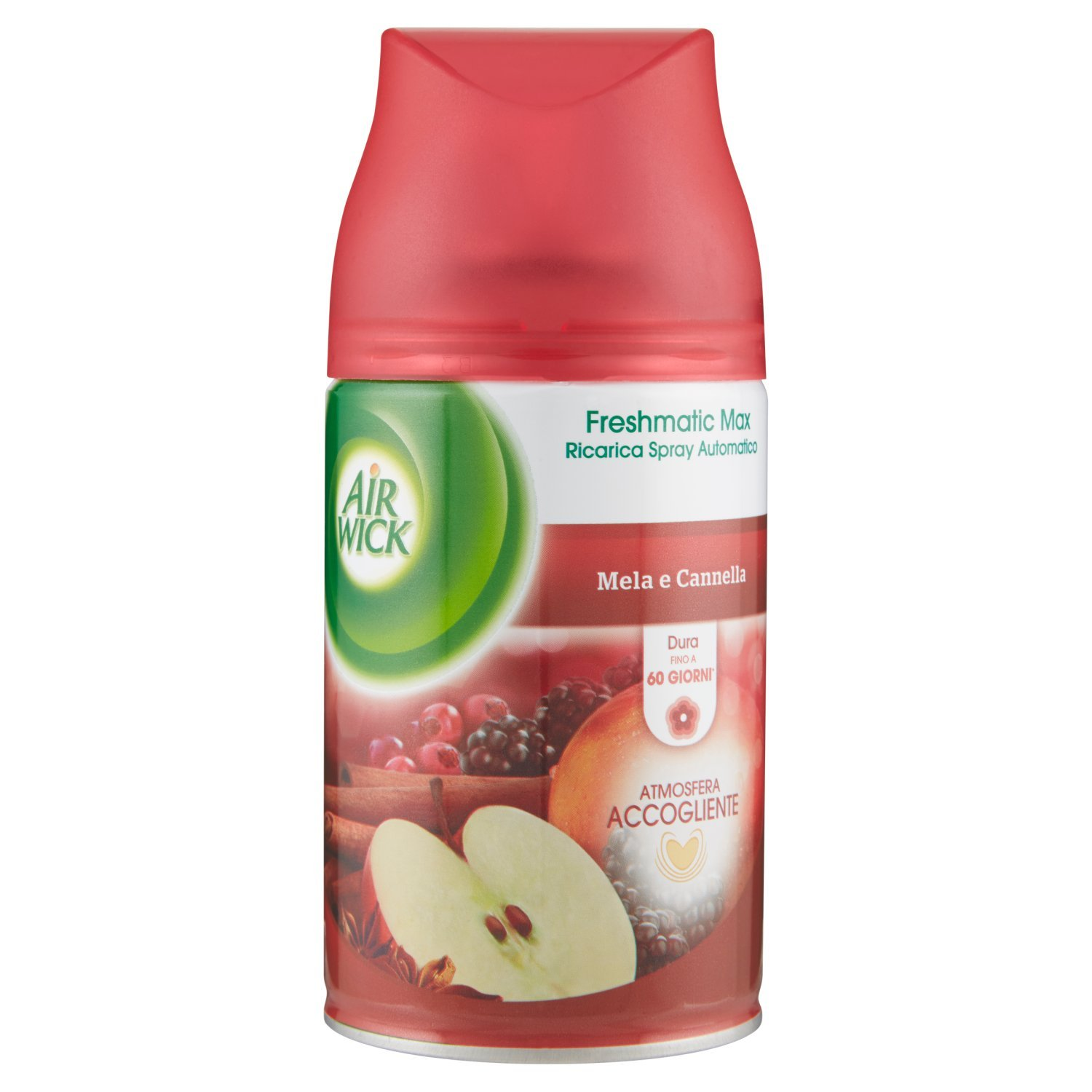 Air Wick Freshmatic Ricarica Spray Automatico, Mela e Cannella, 2 Confezioni da 250 ml Reckitt Benckiser IT