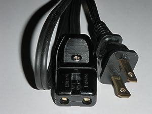 "Farberware 134 134B Percolator Power Cord 2 Pin 24"" coffee pot replacement part"