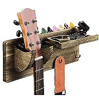 Soporte Pared Guitarra, Colgador de Guitarra Eléctrica, Ganchos de la Pared para Guitarra, Colgador de Guitarra de…