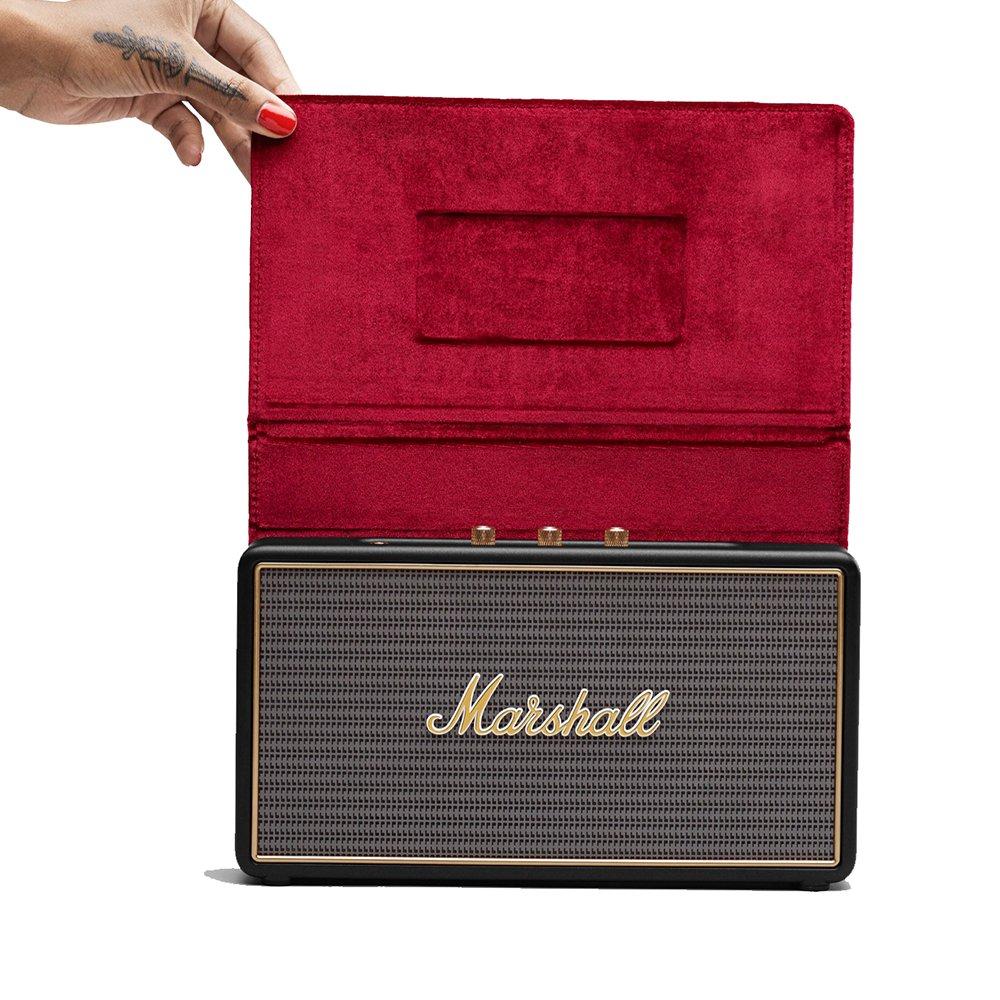 Marshall Stockwell altoparlante portatile Bluetooth con la cassa multifunzionale - Nero