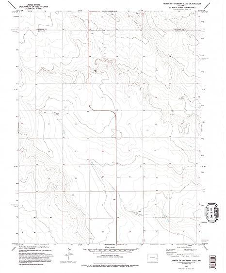 Sheridan Colorado Map.Amazon Com Yellowmaps North Of Sheridan Lake Co Topo Map 1 24000
