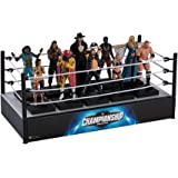 Hero Collector WWE Championship Collection   WWE Championship Display Wrestling Ring by Eaglemoss