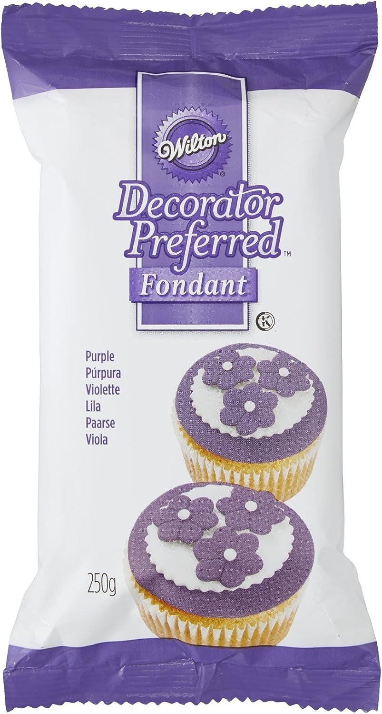 Wilton Decorator Preferred Ready To Use Fondant Cake Icing Purple 250 g