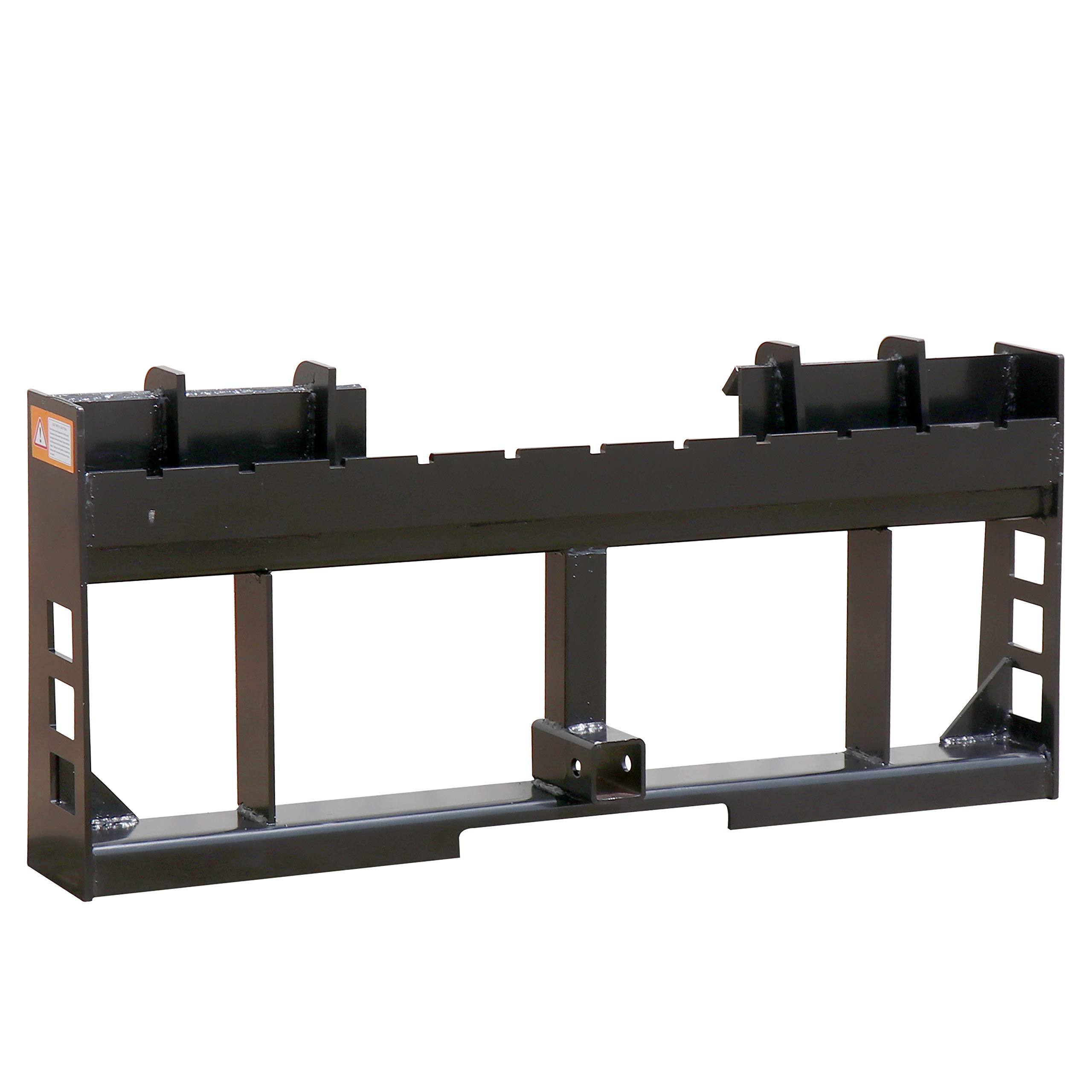 Titan Pallet Fork Frame | 2'' Trailer Receiver Hitch | Fits Skid Steer Loaders by Titan Attachments