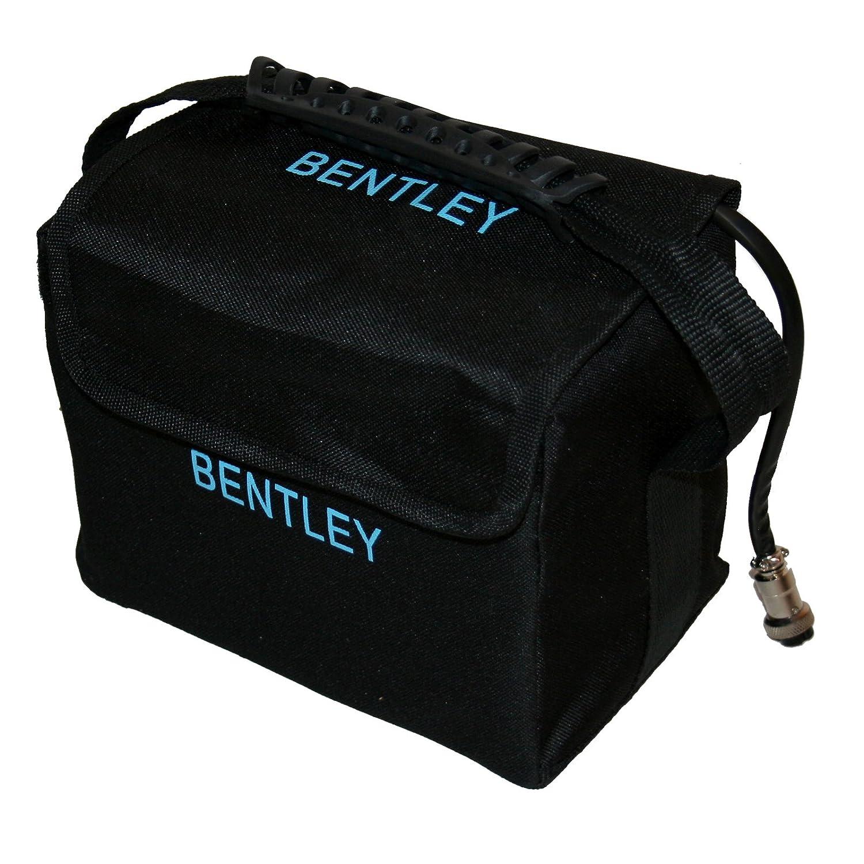 Trolley Carro Caddie de Golf eléctrico Bentley 200w Batería 35A - Plateado