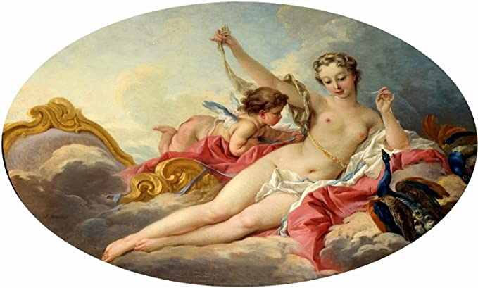 BOUCHER FRENCH BATH VENUS OLD ART PAINTING POSTER PRINT BB5367A