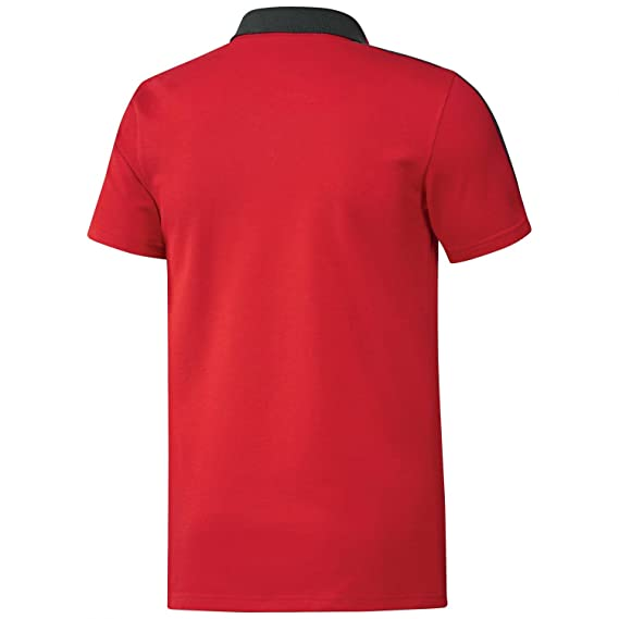 04bbfed7e1a48 adidas 2018-2019 Bayern Munich Training Polo Shirt (Red)  Amazon.es   Deportes y aire libre
