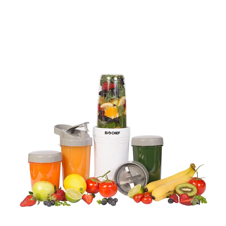 BioChef NutriBoost Bullet Blender – Frullatore da 900w, 23.000 RPM, Set da 12 Pezzi, Personal Blender, Robot da cucina, 2 anni di garanzia Vitality4Life