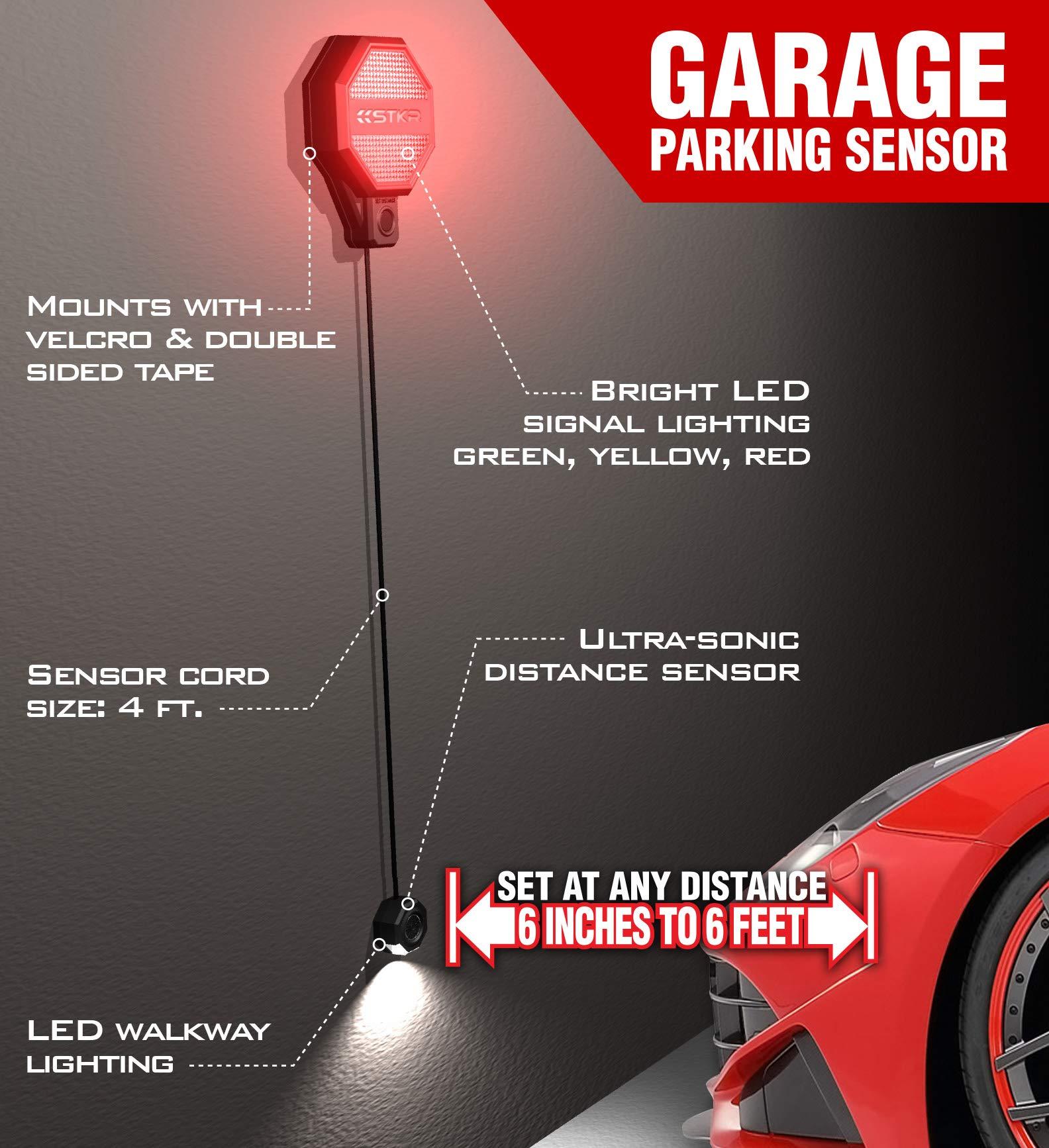 STKR Concepts 00-246 Adjustable Garage Parking Sensor Aid