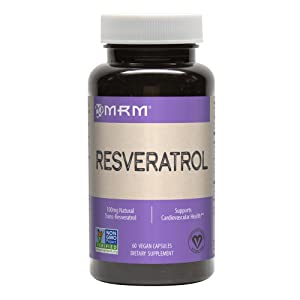 MRM Resveratrol, Natural Trans-Resveratrol, 60-Count
