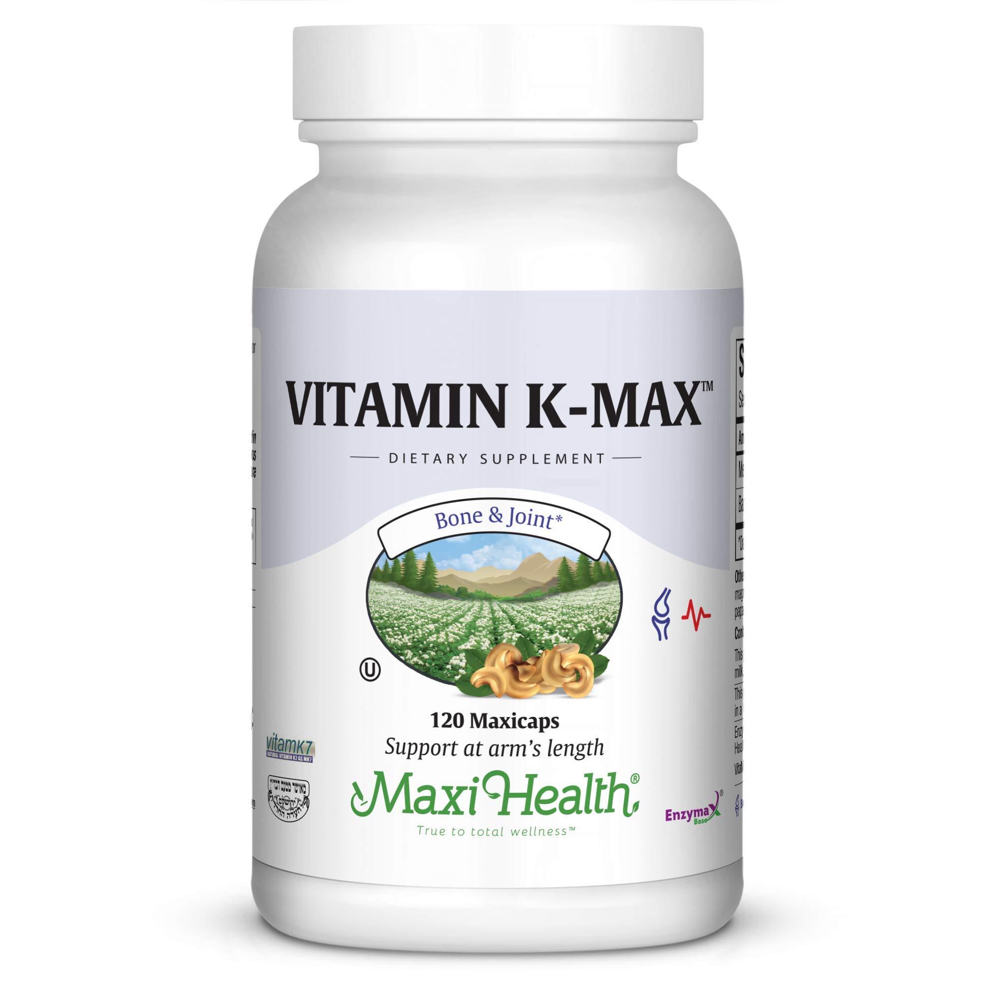 Maxi Vitamin K-Max, 120 Count