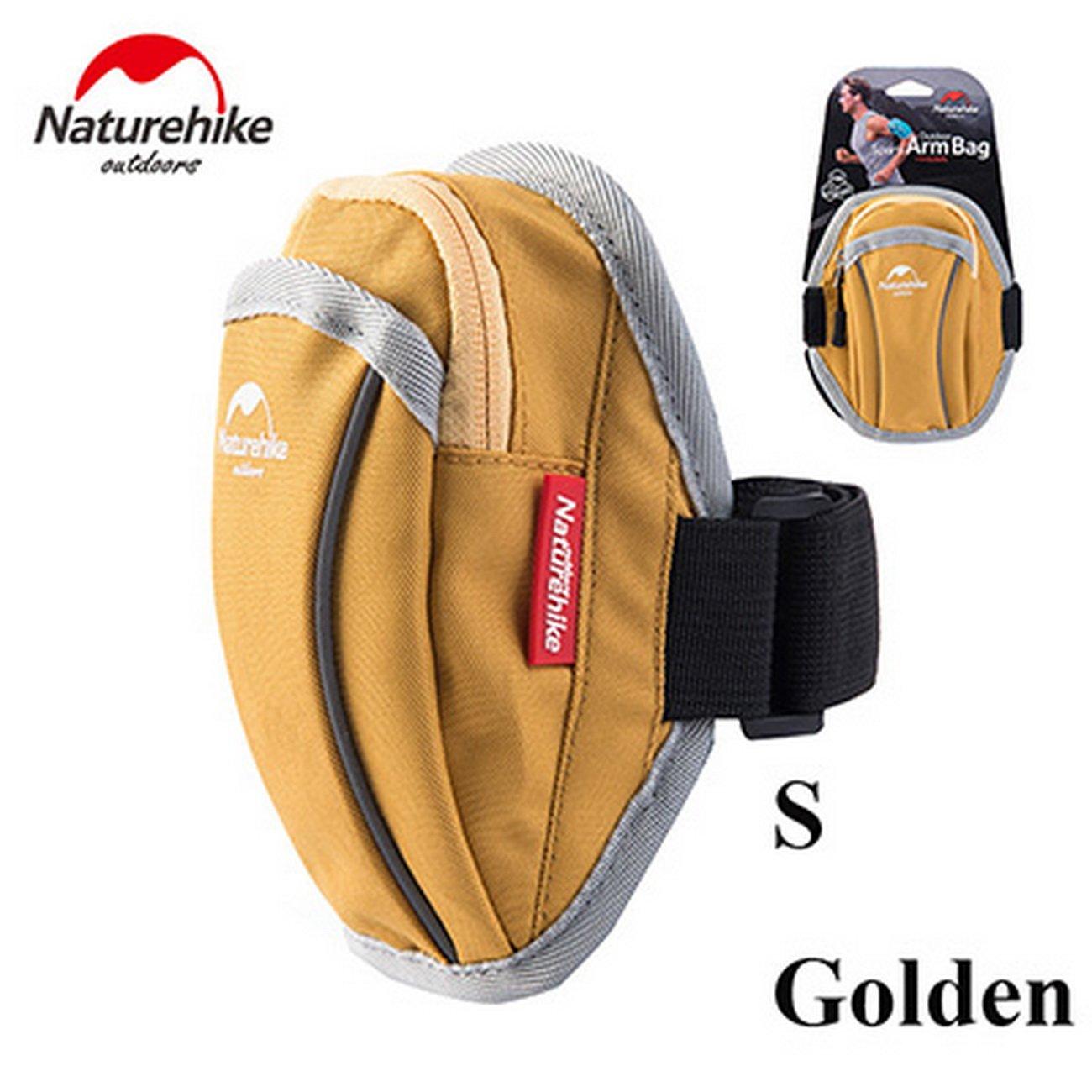 NatureHike Nylon imperméable universel Courir Sac de téléphone Sport Bras Band Case pour Hommes Femmes Sacs de sport portable Sac NH15Y007-B