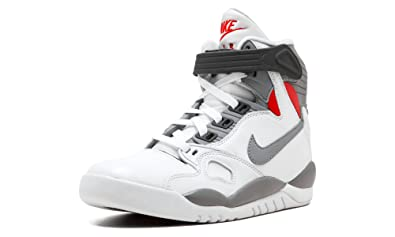 af6d813e604f NIKE AIR PRESSURE RETRO QS 831279 100 WHITE CEMENT GREY BLANC ORANGE GAMMA