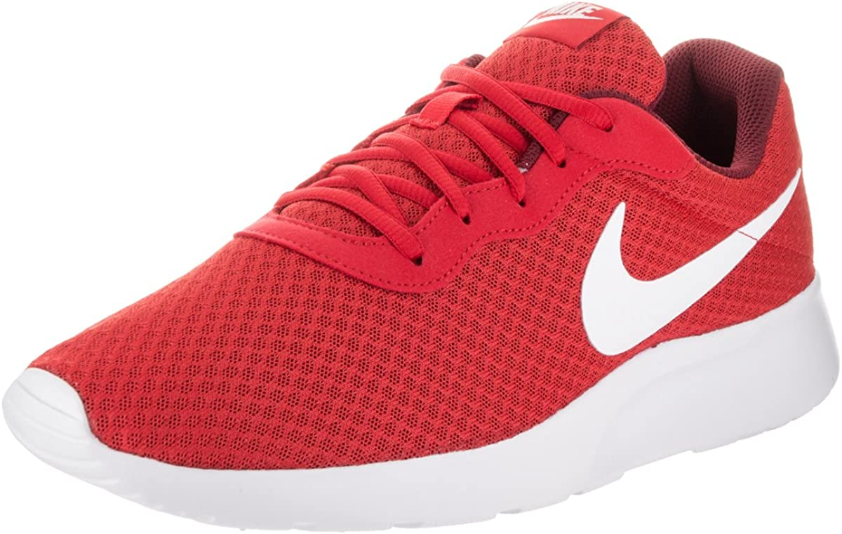 nativo travesura Consejo  Amazon.com | Nike Tanjun University Red/Team Red/White Mens Running Shoes |  Road Running