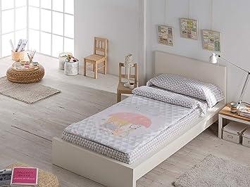 Saco Nórdico 100% Algodón Modelo Lluvia Ideal para Camas Nido y Literas de 90cm: Amazon.es: Juguetes y juegos