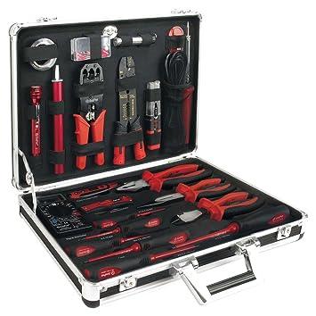Ampro - Cargas Pesadas t45911 maletín Electricista Herramientas, Set 48: Amazon.es: Coche y moto