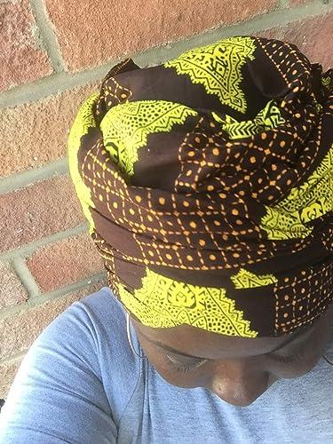 69b3bb827 Gloria écharpe et foulard en wax de qualité supérieure - foulard tissus  africain- foulard turban bandeau musulman