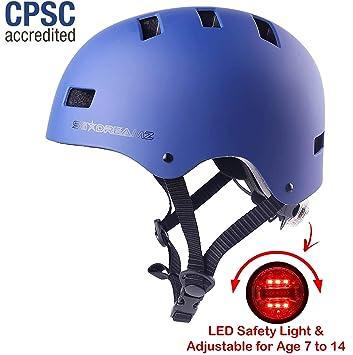 Amazon.com: SG Dreamz Casco de bicicleta para jóvenes ...