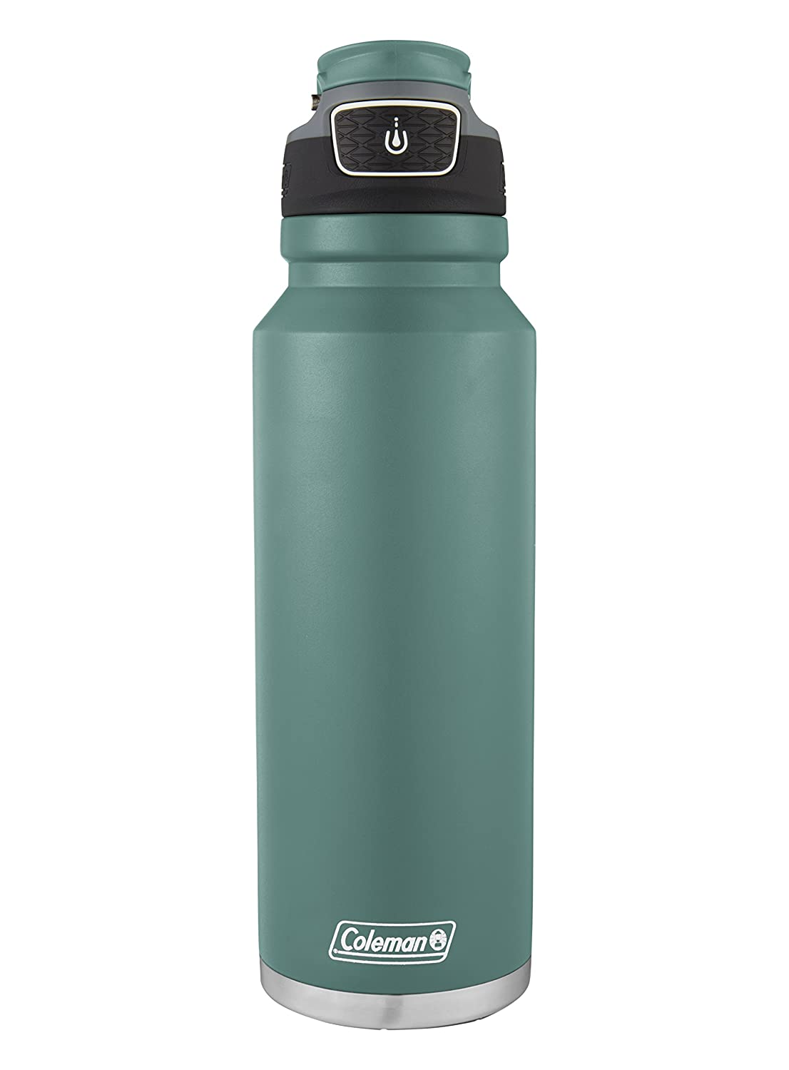 2038480 Coleman FreeFlow AUTOSEAL Insulated Stainless Steel Water Bottle Violet 40 oz The Coleman Company Inc