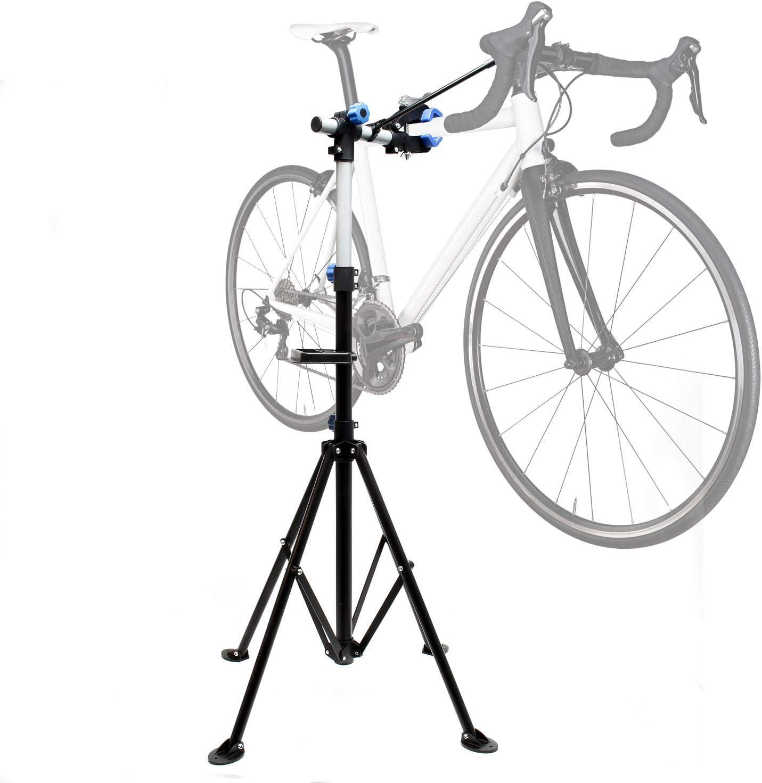 WilTec Caballete de reparación para E-Bikes & Pedelecs Rotación 360° Capacidad 30kg Taller de Bicicletas: Amazon.es: Jardín