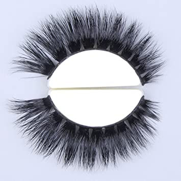 801a7fac155 Amazon.com : TDANCE Lashes 3D Mink False Eyelashes 100% Siberian Mink Fur  Handmade Fake Lashes 1 Pair Package(D106) : Beauty