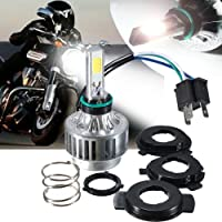 AMBOTHER motocicleta h4 hi/lo LED Headlight Faro (High