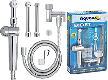 Rinseworks Aquaus 360 Patented Hand Held Bidet Sprayer Nsf Cupc Certified For Legal Installation 2 Backflows Dual Pressure Controls Stayflex Hose 3 To 11 Inch Spray Reach 3 Year Warranty Amazon Ca Tools Home Improvement