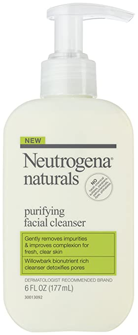 Amazon Com Neutrogena Naturals Purifying Facial Cleanser 0 375