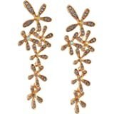 5879a237f Zephyrr Fashion Floral Dangle & Drop Statement Earrings For Girls with  Zircons