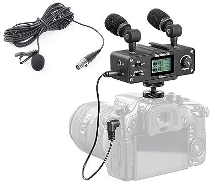 Saramonic Versitile Audio Bundle con micrófono lavalier micrófonos ...