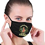 Veterans Against Trump 2020 Military Families Vietnam Vets Unisex Face Mouth Mask to Prevent The Fog and Anti-Dust