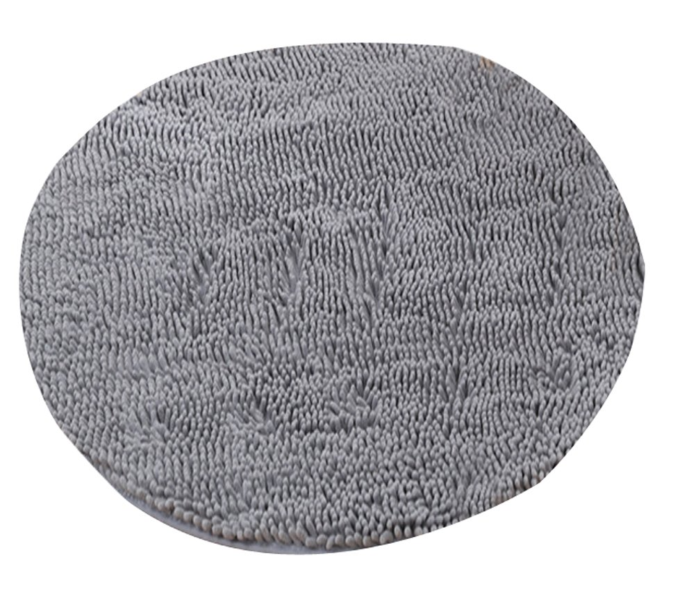 Heavy Multi-size Round Carpet Floor Area Rug Doormat Chenille Shaggy LivebyCare Ground Rugs Entrance Entry Way Front Door Mat Runner for Decor Decorative Home Family Room