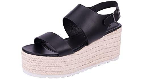 fb7e286c923 Sofree Women s Ankle Strap Wedge Plaform Espadrilles Heel Sandals (11