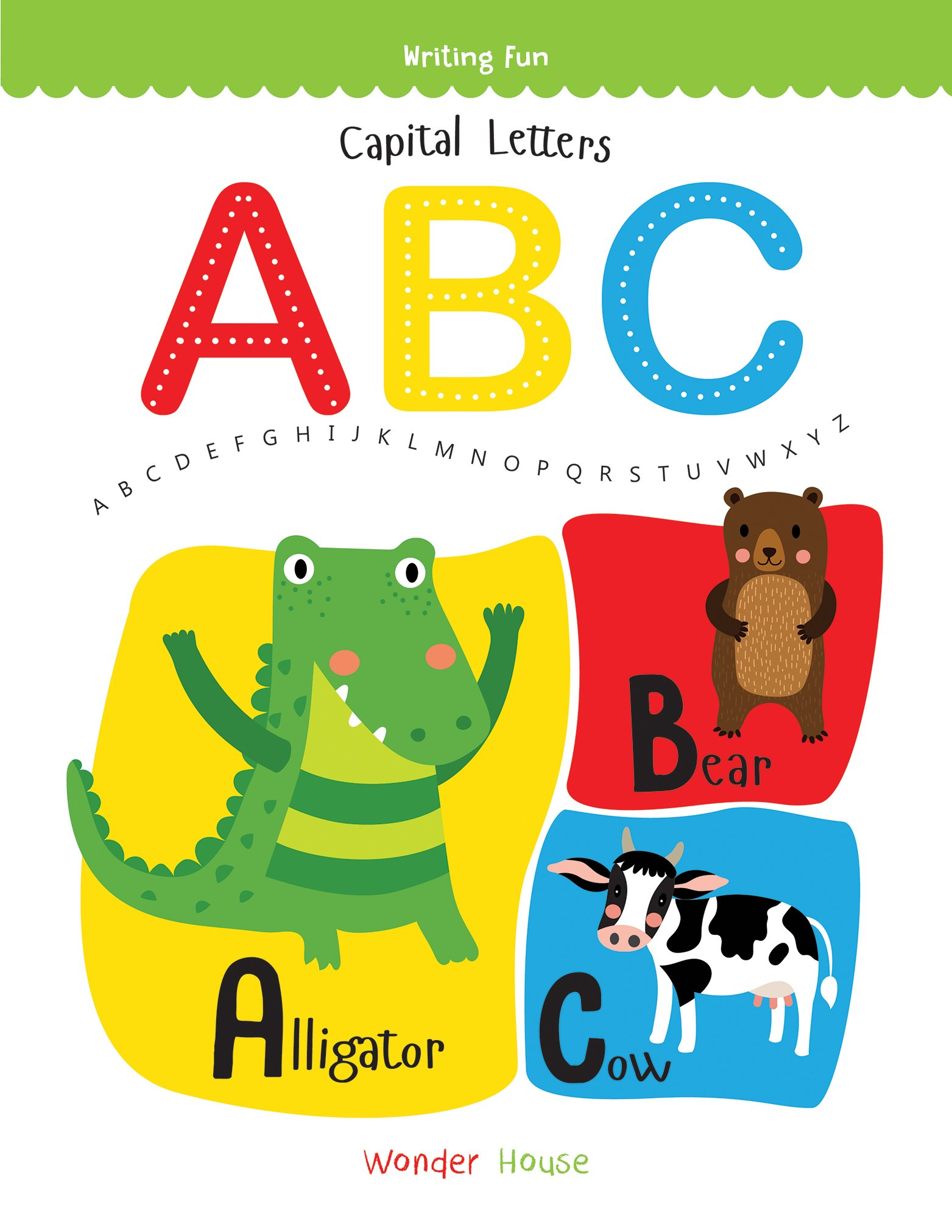 Buy Capital Letters ABC: Write and practice Capital Letters