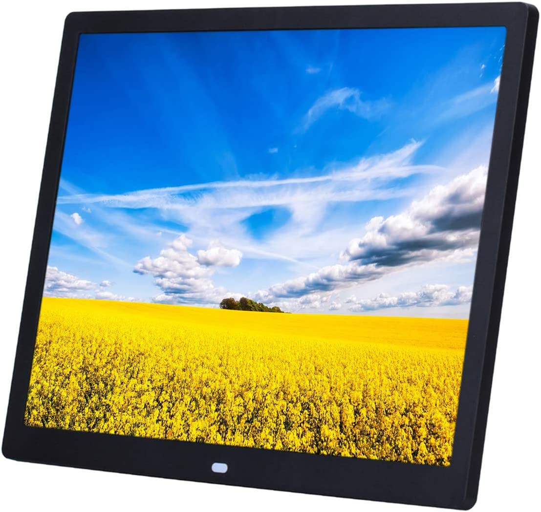 14-inch Advertising Player with 1024 /× 768 Resolution Digital Photo Frame Supporting 1080P high-Definition Video//Full-Format Playback Support for Wall Hanging