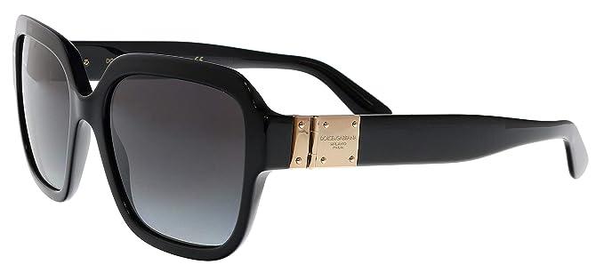 Dolce & Gabbana 0DG4336 Gafas de sol, Black, 56 para Mujer ...