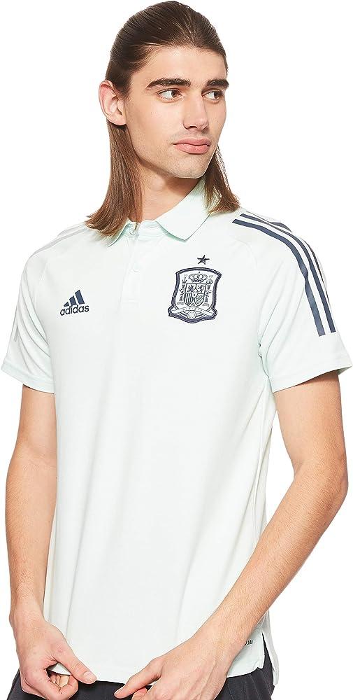 adidas Selección Española Temporada 2020/21 Polo, Unisex, Dash Green, M: Amazon.es: Deportes y aire libre