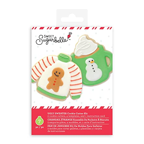 Sweet Sugarbelle Ugly Sweater Cookie Cutter Set