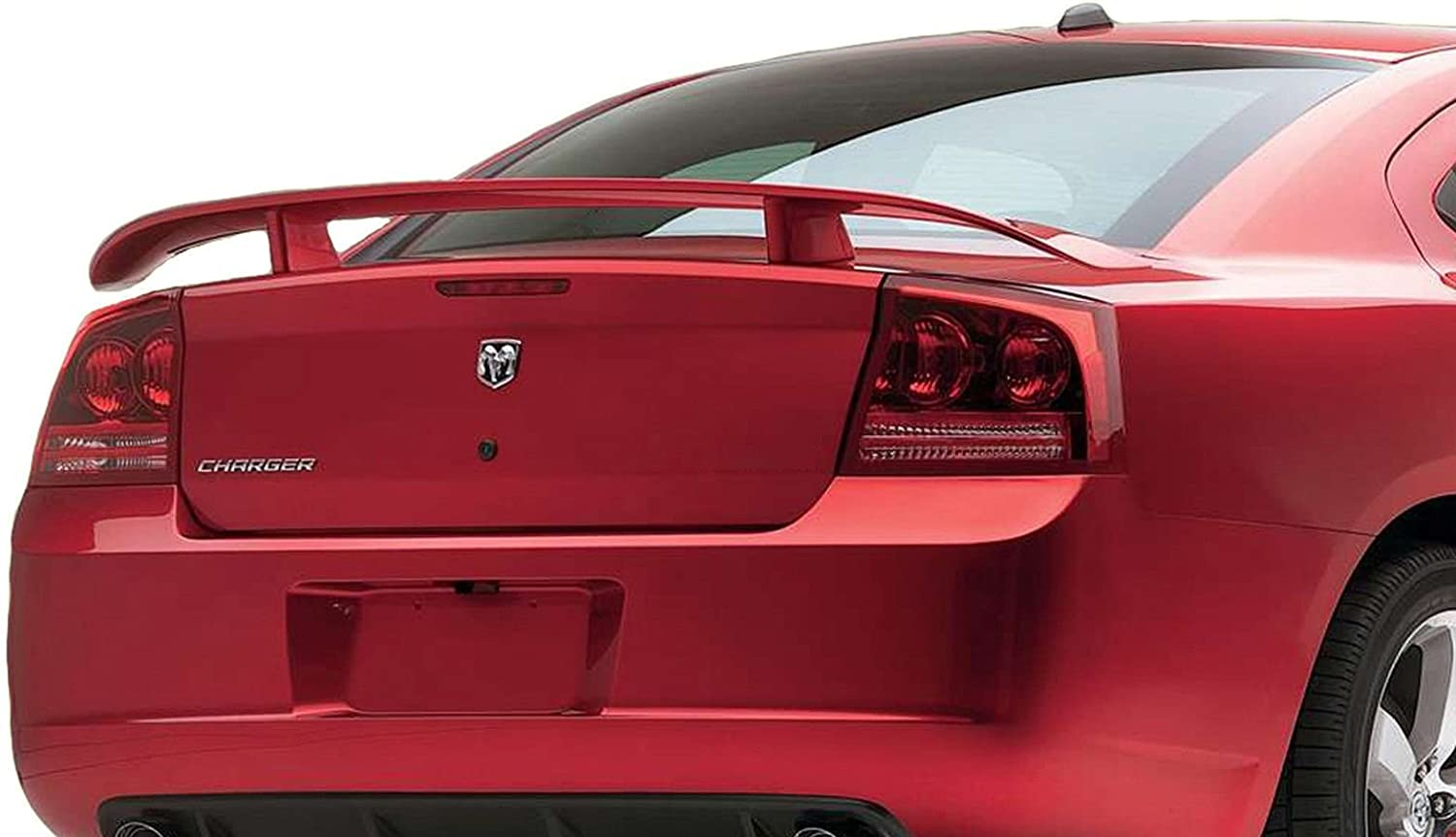 California Dream Compatible With INFERNO RED PRH 2006 2007 2008 2009 2010 Dodge Charger Spoiler