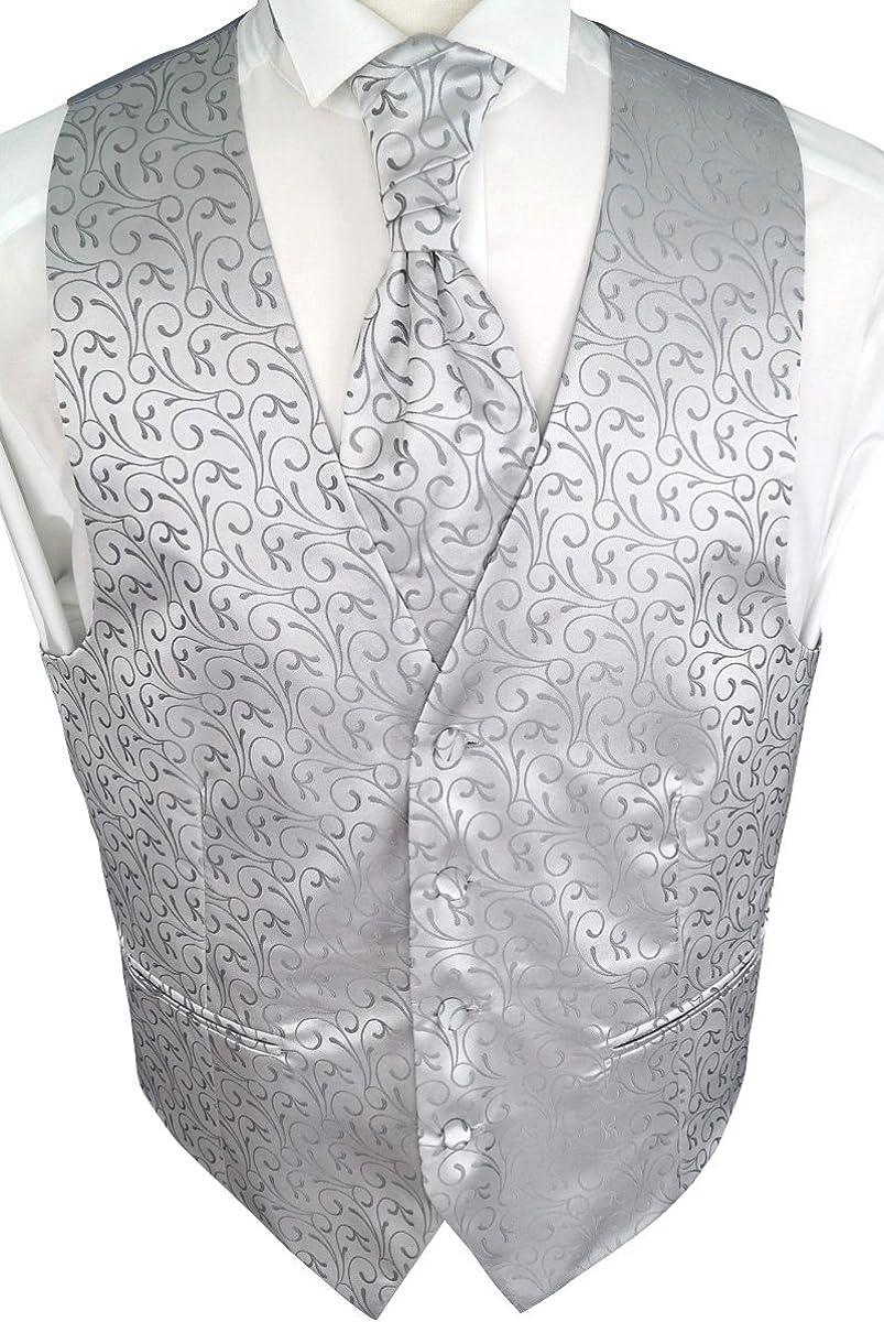 Beytnur - Chaleco para boda con plastrón, pañuelo y Corbata, n.º ...