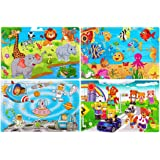 Wooden Jigsaw Puzzles for Kids Age 3-5 Year Old 30 Piece Colorful Wooden Puzzles for Toddler Children Learning…