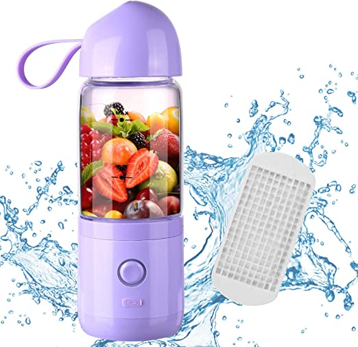 Lovep - Vaso de licuadora con USB, para frutas, batidos, frutas ...