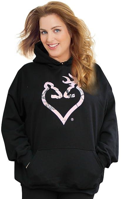fc53430ceaa Mossy Oak Pink Camo Hoodie Women Plus Size Sweatshirt XXL 2XL 2X 3X 3XL 4X (